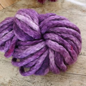 Purple Jumbo Chunky Merino Yarn